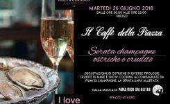 Monza martedi 26 Giugno – I love Ostrica