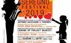 JAZZIN SEREGNO FESTIVAL 2019 – la locandina